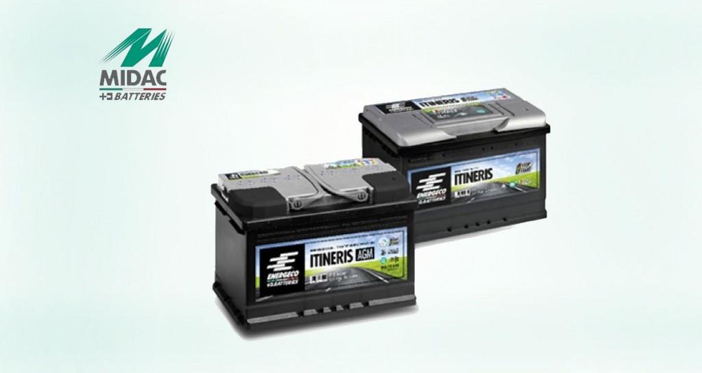 MIDAC-batterie