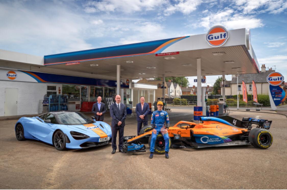 Gulf e McLaren insieme